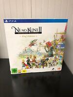 Ni No Kuni II 2 Revenant Kingdom: King's Edition Playstation 4 PS4 - Brand New