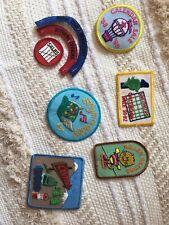 Vintage Vtg Patch Lot Pawnee Goddess Retro
