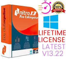 Nitro Pro 13.22 Enterprise PDF Reader Editor✔️Lifetime License🔑Instant Delivery