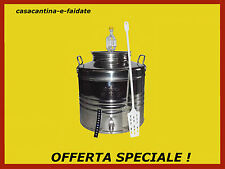 KIT BIRRA,FERMENTATORE in acciaio inox 18/10, 30 lt. OFFERTA SPECIALE !!