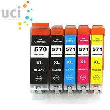 5 Ink Cartridge Replace For Canon Pixma MG6851 MG6852 MG6853 MG7750 MG7751