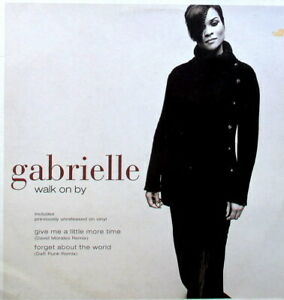 "GABRIELLE - WALK ON BY 12"" EP - IN ACCEPTABLE TO GOOD CONDITION - U.K. PRESSING"