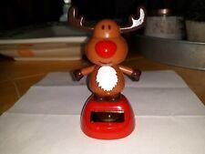 Solar Powered Dancing Christmas Reindeer Toy New