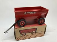 Vintage Farmall McCormick Plastic Farm Wagon by Product Miniature with Box