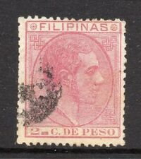 Philippines 1880s Classic Alfonso Used Value 2c. 182385