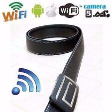 Wireless HD 720P Camera Belt WIFI IP CAMERA H.264 Video Recorder Spy Belt DVR #5