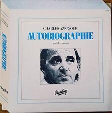 Charles  Aznavour - Autobiographie - Vinyl LP 33T