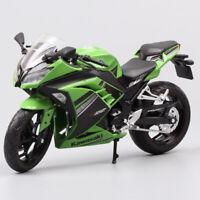 1/12 scale Automaxx Kawasaki Ninja 300 250R SE model Motorcycle bike diecast toy