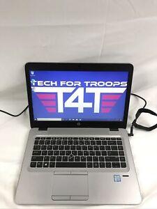 "HP Elitebook 840 G3 Intel i5 2.3GHz 237GB SSD 8GB RAM Windows 10 Pro 14"""