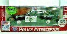 Classic Metal Works California Hwy Patrol 99 Ford Police Interceptor Diecast NIB