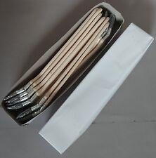 12 x Heizkörperpinsel 50 mm graue Chinaborste Malerpinsel Winkelpinsel Eckpinsel