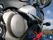 Honda 2004-05 CBR1000RR 1000RR Shogun Frame Sliders NO CUT Version - Black