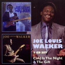 Joe Louis Walker Cold Is The Night/The Gift 2-CD NEW SEALED Blues