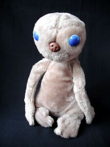 "ORIGINAL 13"" E.T THE ALIEN EXTRA TERRESTRIAL VINTAGE 80'S SOFT TOY PLUSH"