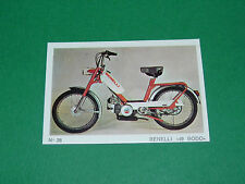 N°28 MOTOCYCLETTE 50 CM3 BENELLI 49 BODO MOTO PARADE 1972 AMERICANA PANINI