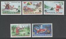 CHRISTMAS ISLAND SG222/6 1986 CHRISTMAS MNH