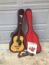vintage acoustic guitar made in korea