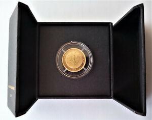 50 Euro Gedenkmünze Gold Lutherrose - 2017 - A - mit Echtheitszertifikat
