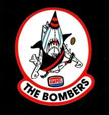 THE BOMBERS & AMPOL promo Vinyl Decal Sticker ESSENDON VFL AFL PETROL
