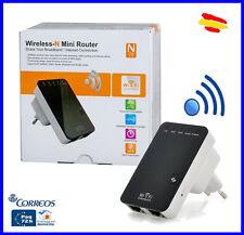Mini Router Repetidor Amplificador señal WIFI  600 Mbps Wi-Fi punto de acceso