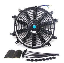 "Premium 14"" 14 Inch Slim Universal Electric Radiator Cooling Fan 8 Mount points"