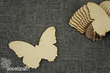 10 Stk. Schmetterling Holz Form Blank Basteln Bemalen Dekoration Wohnen /M-A/