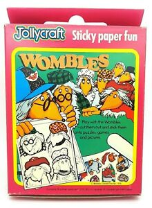 Vintage Wombles 1975 Jollycraft Cards Pictures New Boxed