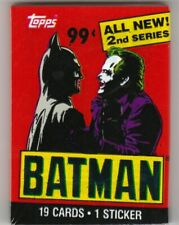 BATMAN MOVIE SEALED PACK TRADING CARDS - SERIES 2