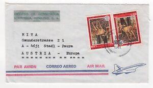 1980 HONDURAS Air Mail Cover COMAYAGUA to STADL-PAURA AUSTRIA SG889 Deer