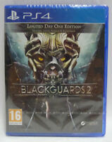 BLACKGUARDS 2  LIMITED DAY ONE EDITION - PS4  - NUOVO - NEW SEALED PAL