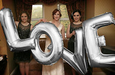 Wedding Foil Mylar Letter Balloons - UK SELLER