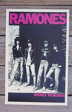 The Ramones Tour poster Rocket to Russia 1977