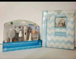 Baby Record Album & - Heathcare and Grooming Set