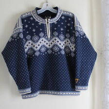 Dale of Norway -Sz XS Women's Lined Polarwind Zip Sweater 100% Wool