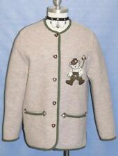 BOILED WOOL Women Winter German SWEATER Jacket 38 12 M