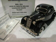 1/43 BROOKLIN 90A PLYMOUTH DELUXE 3 WINDOW COUPE 1935 BLACK