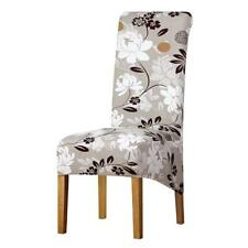 High Back Large Size Chairs Covers Long Back Big Floral Printed Party Seats New