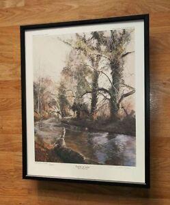 Marion Height-Jones print - 20''x16'' framed Limited Edition wall art, Poacher