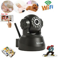 Wireless Home Security WIfi IP Network Camera Pan/Tilt Motion Detection IR-CUT