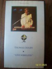 "Thomas Dolby ""Live Wireless"" VHS Video Live Wireless"