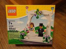 LEGO--BRIDE & GROOM WEDDING CAKE TOPPER SET (NEW) 40165