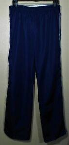 DANSKIN NOW WOMAN'S LONG LOOSE PANTS,  BLUE &  WHITE PANTS SIZEM (8-10) EXCELL