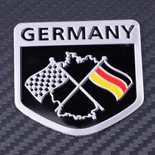 Car 3D Aluminum Germany Flag Emblem Decal Sticker 5*5cm For Porsche BMW VW Benz