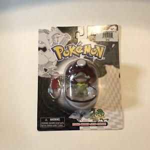 Pokemon Nintendo 2011 Axew In Pokeball Keychain NIB