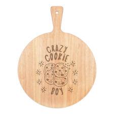 Crazy Cookie Junge Sterne Pizza Board Paddel Holz Witz Kinder lustig