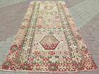 "Antique Turkish Kilim, Teppich, Area Rugs, Large Rug, Wool Kelim 60""x130"" Carpet"