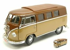 Volkswagen VW Microbus 1962 2 Tone Brown 1:18 Model LUCKY DIE CAST