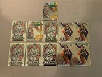 John Stockton Lot (11) + Optic Express Lane Silver Holo Prizm + Hall of Fame