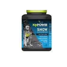 K9 POWER Show Stopper for Dog - Dry coat itchy skin Excessive shedding? 4Lbs