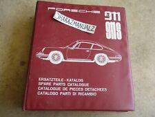 PORSCHE 911S Parts Manual OEM